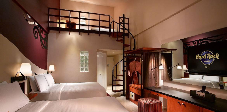 Hard Rock Hotel Bali Loft Room