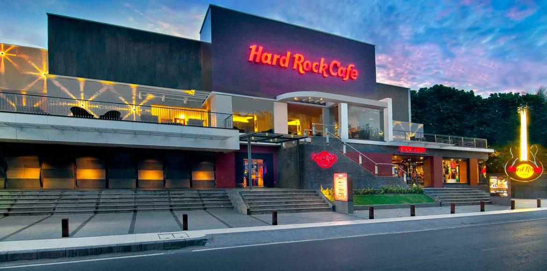 Hard Rock Cafe Entrance