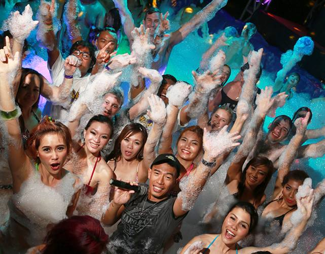 Ultimate Foam Party